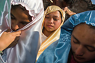 Messico,Guerrero: Rappresentazione della Passione di Cristo durante la settimana santa di Pasqua.