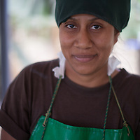 Dina Karina Ramirez Camacho, banana worker at Fairtrade-certified coop BOS in Salitral, Piura, Peru
