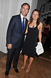 MARCUS & JANE WAREING at the Quintessentially Awards at Number One Marylebone, London on 28th September 2011.