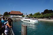 Hafen, Konzilgebäude, Konstanz, Bodensee, Baden-Württemberg, Deutschland