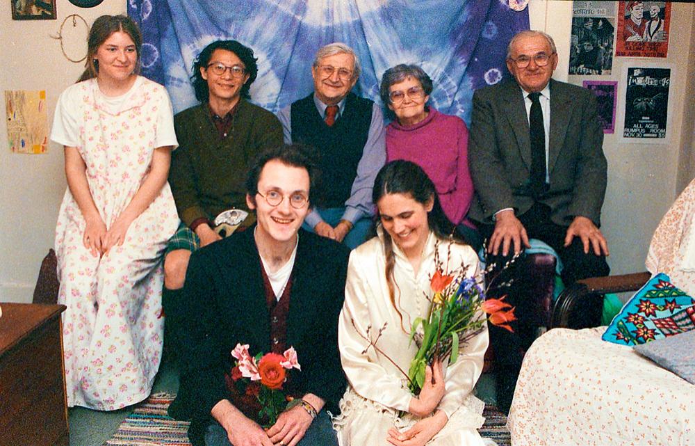 Kathleen Yearwood and Andy Robbens, wedding March 16, 1992