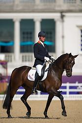 Frank Hosmar (NED) - Alphaville<br /> Individual Freestyle - Grade IV<br /> London 2012 Paralympic Games<br /> © Hippo Foto - Jon Stroud