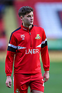 Doncaster Rovers defender Shane Blaney (25) warms up prior to the The FA Cup 2nd round match between Charlton Athletic and Doncaster Rovers at The Valley, London, England on 1 December 2018. Photo by Toyin Oshodi
