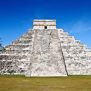 El Castillo (also known as Temple of Kuklcan) at the ancient Mayan ruins at Chichen Itza, Yucatan, Mexico 081216092500_4396.NEF