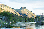 Deschutes River Fly Fishing Photos - Stock images