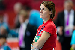 11-12-2019 JAP: Norway - Germany, Kumamoto<br /> Last match Main Round Group1 at 24th IHF Women's Handball World Championship, Norway win the last match against Germany with 32 - 29. / Debby Klijn of Germany