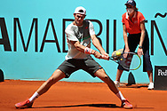 Tommy Paul of USA during the Mutua Madrid Open 2021, Masters 1000 tennis tournament on May 4, 2021 at La Caja Magica in Madrid, Spain - Photo Laurent Lairys / ProSportsImages / DPPI