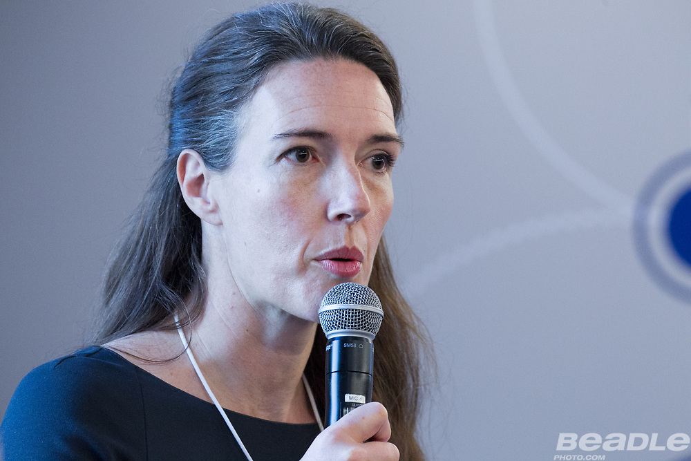 Helena Leurent, Head of Government Engagement, Member of the Executive Committee<br /> World Economic Forum at the World Economic Forum on Africa 2017 in Durban, South Africa. Copyright by World Economic Forum / Greg Beadle