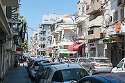 Street scene in Florentin neighbourhood, Tel Aviv, Israel