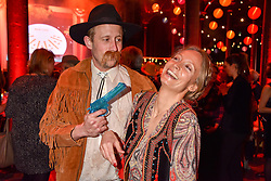 George Frost and Martha Ward at the Save The Children's Night of Country at The Roundhouse, London England. 2 March 2017.