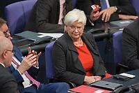 17 FEB 2016, BERLIN/GERMANY:<br /> Gerda Hasselfeldt, CSU, Vorsitzende der Landesgruppe, wahrend der Debatte zur Regierunsgerklaerung der Bundeskanzlerin zum Europaeischen Rat, Plenum, Deutscher Bundestag<br /> IMAGE: 20160217-03-059