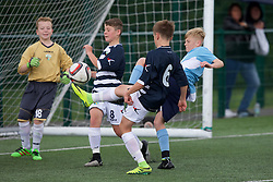 NEWPORT, WALES - Thursday, August 4, 2016: South Wales Academy Boys' South Wales Academy Boys'  during the Welsh Football Trust Cymru Cup 2016 at Newport Stadium. (Pic by Paul Greenwood/Propaganda)