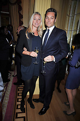 SEB & HEIDI BISHOP at a reception to launch Films Without Borders held The Lanesborough Hotel, London on 8th October 2009.