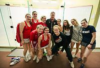 St Paul's School Varsity Squash.  ©2019 Karen Bobotas Photographer