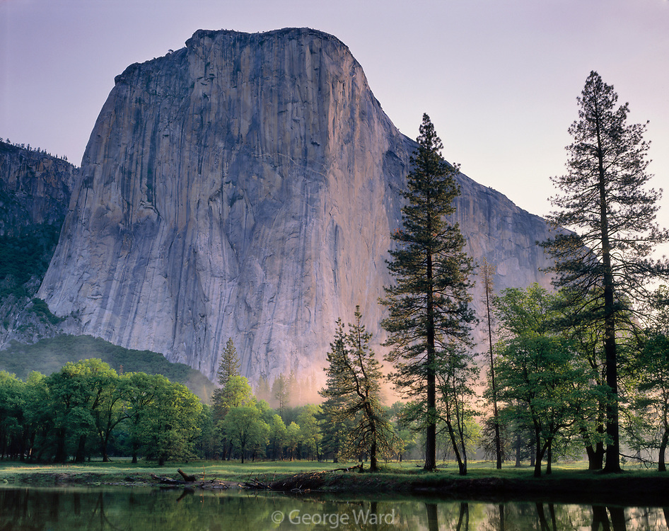 El Capitanin Springtime,Yosemite National Park, California