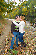 10/14/12 9:31:06 AM - Newtown, PA.. -- Amanda & Elliot October 14, 2012 in Newtown, Pennsylvania. -- (Photo by William Thomas Cain/Cain Images)