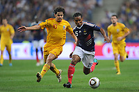 FOOTBALL - UEFA EURO 2012 - QUALIFYING - GROUP D - FRANCE v ROMANIA - 9/10/2010 - FLORENT MALOUDA<br />  - PHOTO FRANCK FAUGERE / DPPI