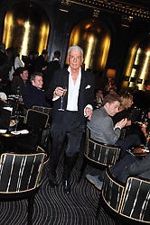 NICKY HASLAM at an evening of Cabaret by Nicky Haslam held in the Beaufort Bar, The Ritz, London on 11th December 2011.