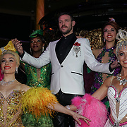 Will Young attends Photocall for the West End launch of Strictly Ballroom The Musical at Café de Paris on 14th Feb 2018, London, UK