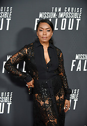 Actress Angela Bassett poses for a picture during the U.S Premiere of 'Mission: Impossible - Fallout' at the National Air and Space Museum on July 22, 2018 in Washington, DC. Photo by Olivier Douliery/ Abaca Press