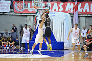 DESCRIZIONE : Paladesio Eurolega 2013-14 EA7 Emporio Armani Milano-Brose Baskets Bamberg<br /> GIOCATORE : Smith Jamar<br /> SQUADRA :  Brose Baskets Bamberg<br /> CATEGORIA : Tre Punti<br /> EVENTO : Eurolega 2013-2014<br /> GARA :  EA7 Emporio Armani Milano-Brose Baskets Bamberg<br /> DATA : 13/12/2013<br /> SPORT : Pallacanestro<br /> AUTORE : Agenzia Ciamillo-Castoria/I.Mancini<br /> Galleria : Eurolega 2013-2014<br /> Fotonotizia : Milano Eurolega Eurolegue 2013-14  EA7 Emporio Armani Milano Brose Baskets Bamberg<br /> Predefinita :