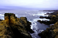 The Mendocino County Coast is favorite weekend getaway for Northern California Bay Area residents. Beside the miles and miles of undeveloped coastline, inland many wineries are there for enjoying - without the mobs of Napa.