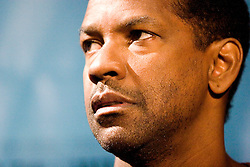 02 Feb, 2006. New Orleans, Louisiana.<br /> The cast and directors of the movie Deja Vu give a press conference at the House of Blues in New Orleans, Louisiana. Denzel Washington at the conference.<br /> Photo; Charlie Varley/varleypix.com