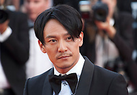 Jury member Chang Chen at the Ash Is The Purest White (Jiang Hu Er Nv) gala screening at the 71st Cannes Film Festival, Friday 11th May 2018, Cannes, France. Photo credit: Doreen Kennedy