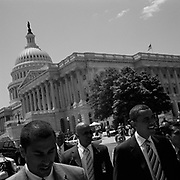 U.S. Senator Barrack Obama seen outside Capitol Hill before running for President of the United States.<br /> <br /> (Credit Image: © Louie Palu/ZUMA Press)