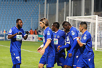 Joie Floyd AYITE - 03.01.2014 - Bastia / Lille - Coupe de France -<br />Photo : Michel Maestracci / Icon Sport