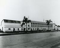 1923 Warner Bros. studios on Sunset Blvd.