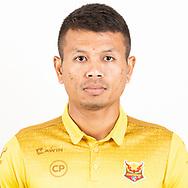 THAILAND - JUNE 29: Kongnateechai Boonma #17 of Sukhothai FC on June 29, 2019.<br /> .<br /> .<br /> .<br /> (Photo by: Naratip Golf Srisupab/SEALs Sports Images/MB Media Solutions)