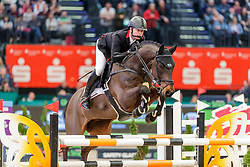BRINKMANN Markus (GER), Pikeur Dylon<br /> Leipzig - Partner Pferd 2020<br /> Longines FEI Jumping World Cup™ presented by Sparkasse<br /> Sparkassen Cup - Großer Preis von Leipzig FEI Jumping World Cup™ Wertungsprüfung <br /> Springprüfung mit Stechen, international<br /> Höhe: 1.55 m<br /> 19. Januar 2020<br /> © www.sportfotos-lafrentz.de/Stefan Lafrentz