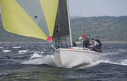 Sailing - SCOTLAND  - 26th May 2018<br /> <br /> DAY 2 Racing the Scottish Series 2018, organised by the  Clyde Cruising Club, with racing on Loch Fyne from 25th-28th May 2018<br /> <br /> GBR9214R, Jammin, Doug & Alastair Paton, Fairlie Yacht Club, J92<br /> <br /> Credit : Marc Turner<br /> <br /> Event is supported by Helly Hansen, Luddon, Silvers Marine, Tunnocks, Hempel and Argyll & Bute Council along with Bowmore, The Botanist and The Botanist