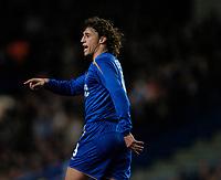 Photo: Richard Lane.<br />Chelsea v Barcelona. UEFA Champions League. 22/02/2006.<br />Chelsea's Hernan Crespo.