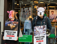 PETA  Protest Against Urban Outfitters Brands Over Animal Abuse photo by Mark Anton Smith
