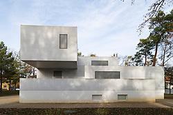 Bauhaus style Gropius Haus now an art gallery one of the Meisterhauser  in Dessau , Germany.