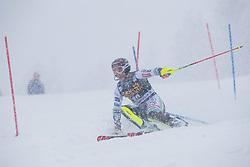 Zan Kranjec (SLO) during the Audi FIS Alpine Ski World Cup Men's  Slalom at 60th Vitranc Cup 2021 on March 14, 2021 in Podkoren, Kranjska Gora, Slovenia Photo by Grega Valancic / Sportida