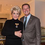 NLD/Amsterdamt/20180930 - Annie MG Schmidt viert eerste jubileum, Simone Kleinsma en Albert Verlinde