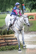 SOLTAIR JUSTICE ridden by Emma Forsyth taking part in the Equitrek CCI*** cross country on day three of the Bramham International Horse Trials 2017 at Bramham Park, Bramham, United Kingdom on 11 June 2017. Photo by Mark P Doherty.