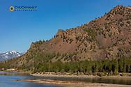 The Flathead River near Perma, Montana, USA