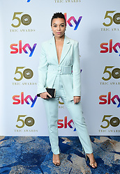 Leonie Elliott attending the TRIC Awards 2019 50th Birthday Celebration held at the Grosvenor House Hotel, London.