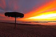 Southern California Beach Sunset in Carlsbad