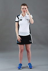 Umpire Louise Travis signalling intimidation