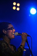 Ghent, Belgium, Mar 25, 2009, Moiano live at Democrazy minnemeers Ghent, ©Christophe VANDER EECKEN