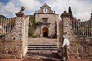 Church, Ajijic, Lake Chapala, Jalisco, Mexico