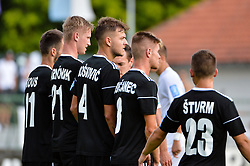 football match between NS Mura and NK Krsko in 5th Round of Prva liga Telekom Slovenije 2018/19, on August 19, 2018 in Mestni stadion Fazanerija, Murska Sobota, Slovenia. Photo by Mario Horvat / Sportida