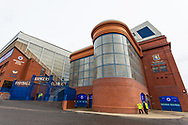 Ibrox stadium during the Scottish Premiership match between Rangers and Dundee United at Ibrox, Glasgow, Scotland on 12 September 2020.
