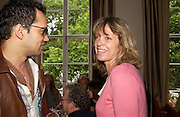 Sabrina Guinness. Lunch party for Brooke Shields hosted by charles finch and Patrick Cox. Mortons. Berkeley Sq. 6 July 2005. ONE TIME USE ONLY - DO NOT ARCHIVE  © Copyright Photograph by Dafydd Jones 66 Stockwell Park Rd. London SW9 0DA Tel 020 7733 0108 www.dafjones.com