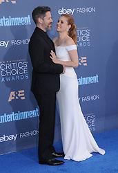 Darren Le Gallo, Amy Adams  bei der Verleihung der 22. Critics' Choice Awards in Los Angeles / 111216